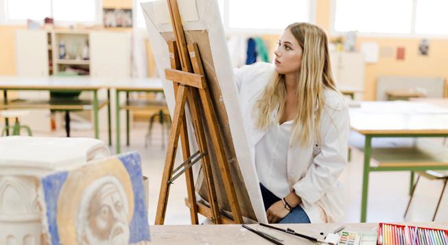 Escuela de arte Trampantojo